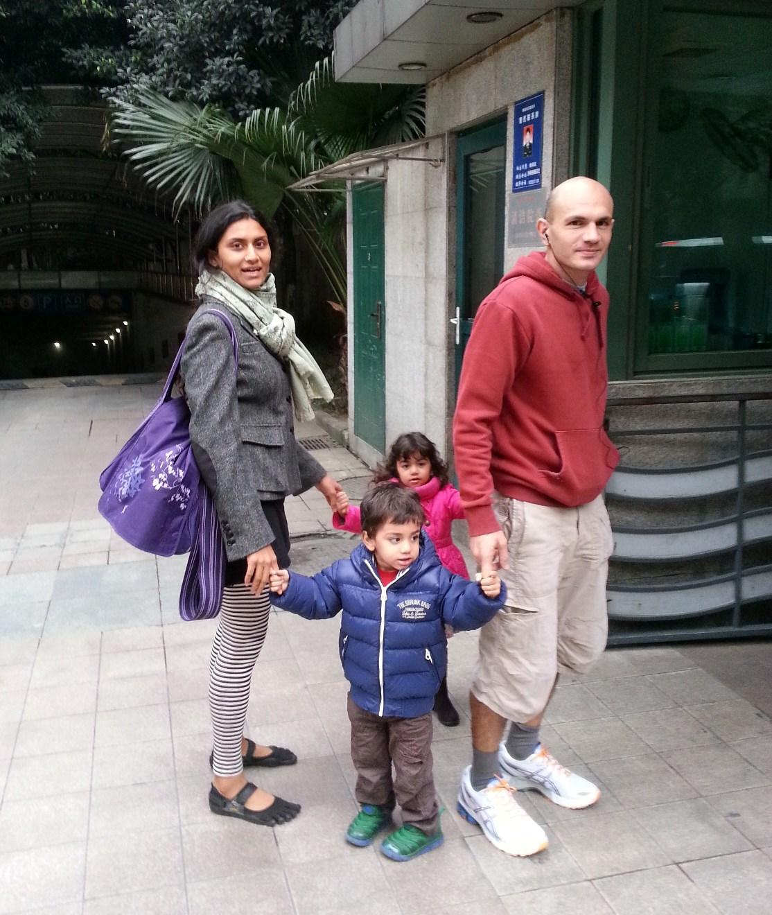 Natasha Curry Family